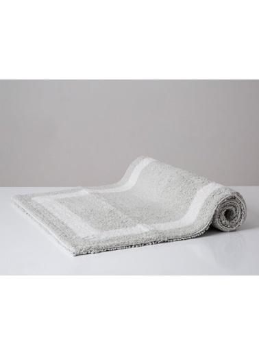 İrya Home&More Pamuk Banyo Paspası Barnes Sılver 53*86 Gümüş